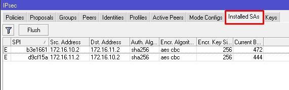 Ключи IPSEC