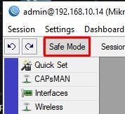 Включаем Safe Mode