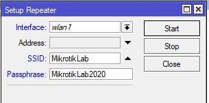 Задаем параметры для автоматического режима