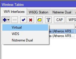 Создание Virtual AP