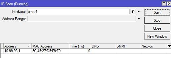 Прослушивание IP адресов