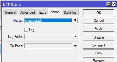 Маскарад IP адресов на hAP Lite