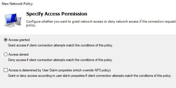 Разрешаем или запрещаем доступ