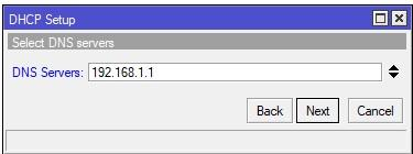 Select DNS Servers